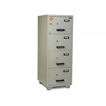 Valberg Fire Resistant Cabinet FC4K-KK 4 drawer (Two Key lock)