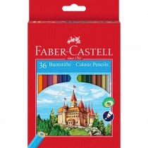 Faber Castell FCI114431 Nature Colour Pencil, Assorted (Pack of 36)