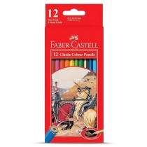 Faber Castell FCI115852 Classic Color Pencil, Assorted (Pack of 12)