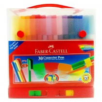 Faber Castell FCI155077 Connector Pen Gift Case, Assorted (30 / Set)