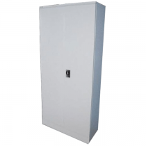 REXEL FULL HEIGHT CUPBOARD SWING DOOR WITH 3 ADJUSTABLE SHELVES, RXL101SW (OFF WHITE)