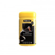 Fellowes Screen Cleaning Wipes 100/pack