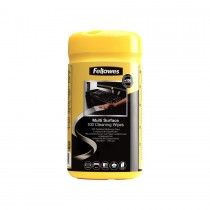 Fellowes Surface Cleaning Wipes 100/pack