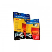 Fellowes A4 Laminating Pouch Films  125 Microns  100 Pack