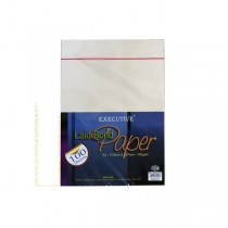 FIS A4 100gsm Executive Laid Bond Paper - Camelle White (pkt/100s)