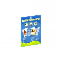 FIS FSPAWP18050A4 Ink Jet Glossy Photo Paper - 180gsm, A4, 50 Sheets