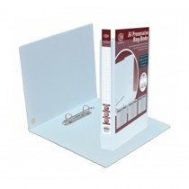 FIS FSBD245DPB Presentation 2-Ring Binder - 45mm Ring, A4, White