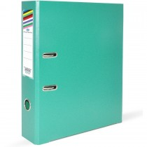 FIS Box File A4 8cm Broad Green