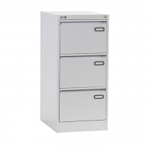 Rexel 3 Drawer Filing Cabinet, Grey RXL 303ST