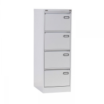 Rexel 4 Drawer Filing Cabinet, Grey