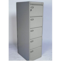Rexel 5 Drawer Filing Cabinet, Grey RXL305ST