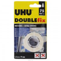 UHU DOUBLE SIDED MOUNTING TAPE 75KGROLL IN BLISTER AN 46855
