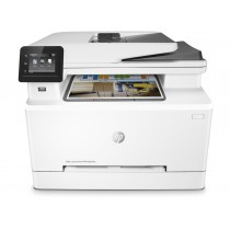 HP Color LaserJet Pro MFP M281fdn Multifunction Color Laser Printer, White