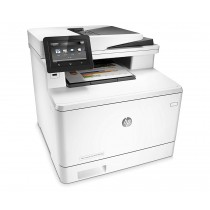 HP Color LaserJet Pro MFP M477fnw Laser Multifunction Printer, White