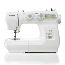 JANOME 2212 LE Sewing Machine 12 Stitches with Hard Cover