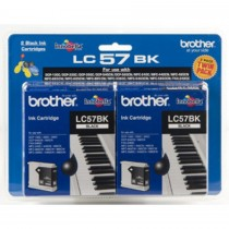 Brother LC-57BK2PK 2 Black Ink Cartridges