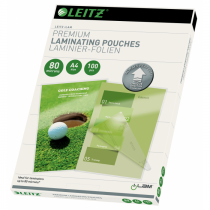 Leitz iLAM UDT Hot Laminating Pouches A4  80 microns 100 Sheets