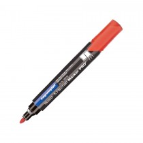Magnetoplan COP 1228106 Dry Erase White Board Marker  Red (Pack of 4)