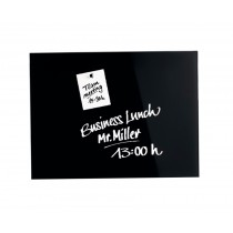 Magnetoplan Magnetic Glass Board, 150 x 100 cm, DEEP BLACK