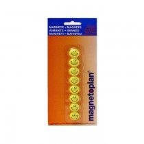 Magnetoplan Magnetic Smileys, 20mm, 8/pack