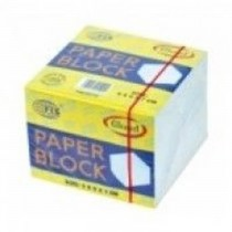 FIS Paper Cube White With Gum