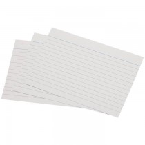 Index Cards 5 x 8 180gsm 100pcspack White