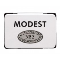 Modest Stamp Pad, 11 x 7 cm, Black