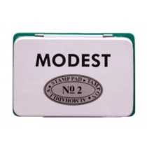 Modest Stamp Pad, 11 x 7 cm, Green
