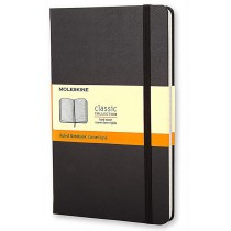 MOLESKINE Classic Notebook A6 hardcover ruled 192 pages Black