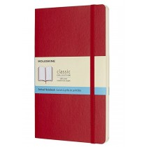 MOLESKINE Classic Notebook A5 hardcover plain 240 pages Red