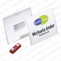 Durable 821219 CLICK FOLD Magnetic Name Badge 75 x 40 mm