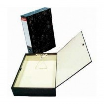 Oryx Laminated Rigid Closed Box File Black OX7114