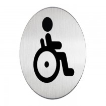 Durable Picto WC HANDICAPED PEOPLE