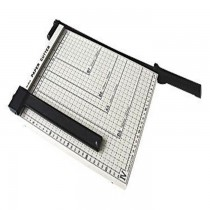 DELI 8014 A4 Size Paper Cutter with Steel Base (300mmX250mm), 12inchesx10inches