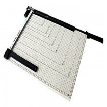 DELI 8012 A3 Size Paper Cutter With Steel Base (460mmX380mm), 18inchesx15inches