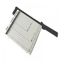 DELI 8016 A5 Size Paper Cutter with Steel Base (200mmX180mm), 8inchesx7inches