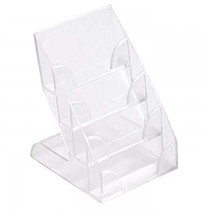 Durable Business Card Display Holder  4 Tier