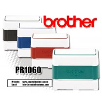Brother PR1060R Pre-Inked Rubber Stamps Red 6/Box