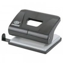 FIS FSPUPP8020 2 Hole Punch  20 Sheets Black