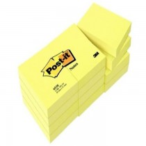 3M PostIt Notes Canary Yellow 653 15inx2in 12padspack