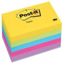 3M PostIt Notes Ultra Colors 6555UC 5padspack