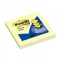 3M Post-it Pop-up Notes Refills for Pop-up Dispensers 3inx3in
