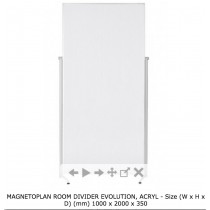 MAGNETOPLAN ROOM DIVIDER EVOLUTION 1000 x 2000 x 350