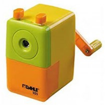 Dahle 00101-21385 Pencil Sharpener, Yellow/Orange