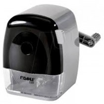 Dahle 00133-21281 Pencil Sharpener, Grey/White