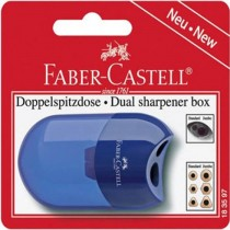 Faber Castell Dual Sharpener Apple Blister FCC1835