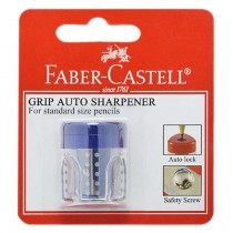 Faber Castell Single Hole Grip Auto Sharpener Blister FCC183498