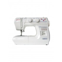Janome Silver 12LE Sewing Machine with Hard Cover