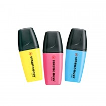 Stabilo Boss Mini Highlighters  Yellow/Pink/Blue