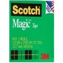 3M Scotch Magic Tape 12 x 72 yards